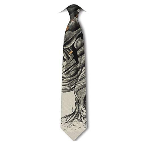 HYUS Die Krawatte der verlorenen Übersetzungs-Manner Anzugs-Krawatte
