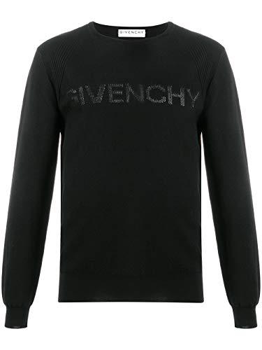 Givenchy Luxury Fashion Herren BM90CL4Y5U001 Schwarz Baumwolle Sweater | Frühling Sommer 20
