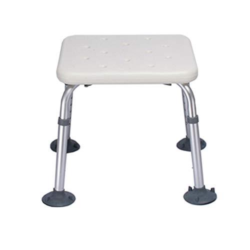 Chaise de Douche Multi-Usage Tabouret de Douche Tabouret de Bain Siège de Salle de Bain Chaise de Douche Chaise de Bain réglable en Hauteur avec Support jusqu'à 330lbs