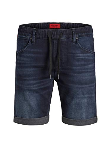 JACK & JONES Herren JJIRICK JJDASH GE 928 I.K. STS Shorts, Blau (Blue Denim Blue Denim), W(Herstellergröße: M)