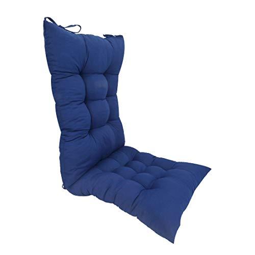 ELFJOY Solid Color Cozy Sanding Fabric Rocker Cushion Set - Chair Pads...