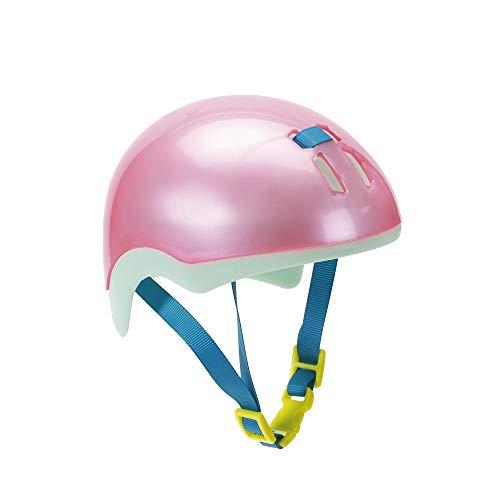 BABY born Fahrradhelm 43cm Play&Fun-Casco da Bicicletta, 43 cm, Colore Rosa + Menta, 827215