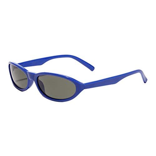 Sharplace Gafas de Sol de Moda Anteojos de Mujer Hombre Colorido para Playa Viaje Conducción - Azul