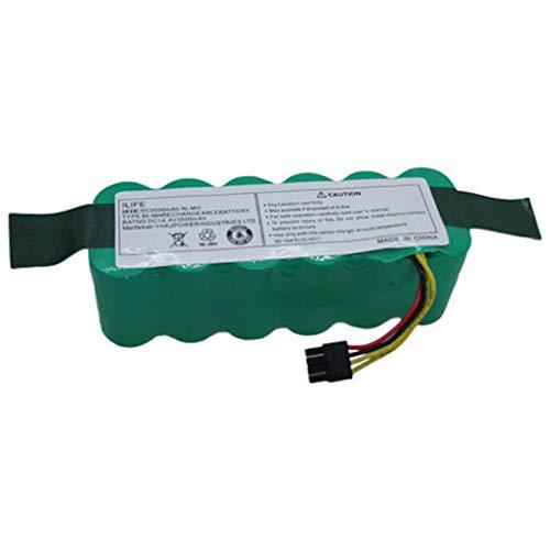 SODIAL Batteria del Robot 14.4V 3500Mah per Il Pacco Batteria Aspirapolvere Haier Swr-T322 T321 T320 T325 Accessori Parti