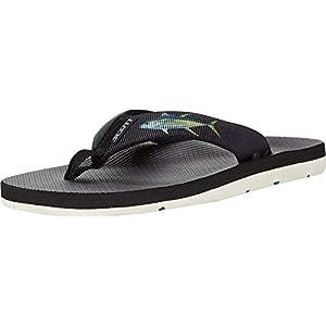 Scott Hawaii Kaikane Sandals for Men, Neoprene Lined Flip Flops, No Slip Sole with Arch