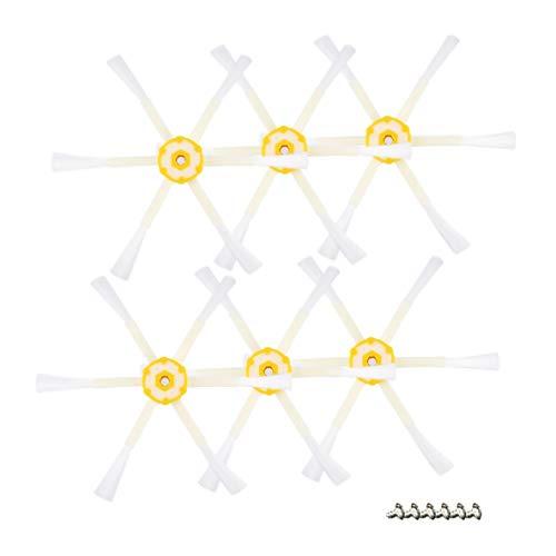 Robot de limpieza con cepillo, 6 cepillos laterales con braz