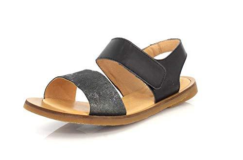 El Naturalista NF30 Women's Tulip Sandals, Ibon Black - 39