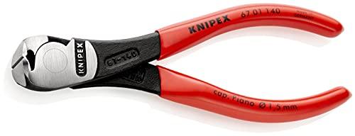 KNIPEX Alicates de corte frontal de fuerza (140 mm) 67 01 140