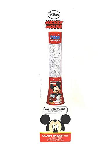 Maxi lampe à paillette MICKEY DISNEY 34cm
