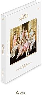 トゥワイス - Feel Special [A ver.] (8th Mini Album) CD+88ページフォトブック+リリックスペーパー+フォトカード5枚+ゴールドフォトカード1枚 [KPOP MARKET 特典: 追加特典両面フォトカードセット] [韓国盤]