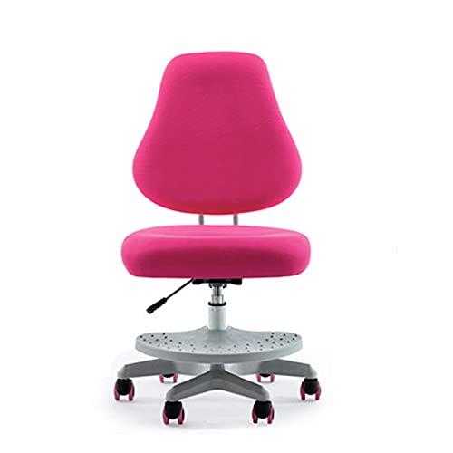 WLP-WF Kid Desk Chair Kinder 's Study Chair Home Hocker Sitzhaltung Schreibstuhl Student Chair Verstellbare Rückenlehne Computerstuhl (Farbe: Blau, Größe: 91-106X52X43-55Cm),Lila,91-106X52X43-55Cm