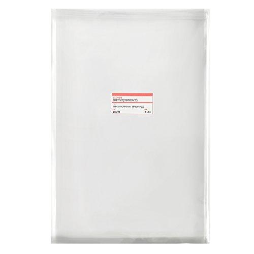 透明OPP袋(透明封筒)テープ付 225×310+フタ40mm ≪A4用紙/DM用≫ 30ミクロン 【100枚】