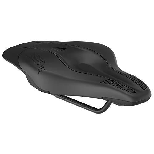 SQlab 613 Ergowave R Sillín de Bicicleta Triatlón, Adultos Unisex, Negro, 13 cm