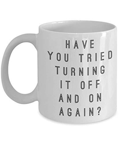 I.T. Worker - Taza de café con texto en inglés
