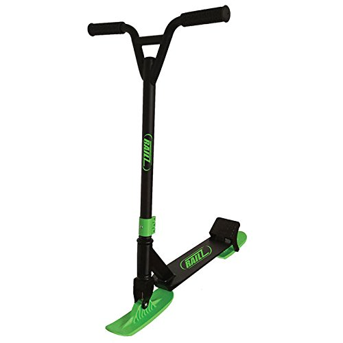 RAILZ Pro BD-5.0 Snow Kick Scooter - Black & Green
