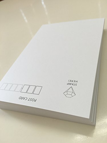 『100枚入り ポストカード印刷用 宛名面はがき(1面)』の2枚目の画像