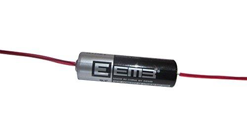 batteria Pila al litio 3,6V 2400 mAh size AA con reofori 3,6 volt tipo stilo er14505 er 14505