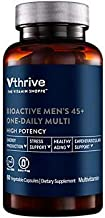Bioactive Multivitamin for Men 45+ Once Daily Supports Stress, Healthy Aging (60 Vegetarian Capsules)