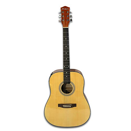 41' Electric Acoustic Steel String Guitar 4 Band EQ