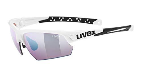 uvex Unisex– Erwachsene, sportstyle 224 CV Sportbrille, white, one size