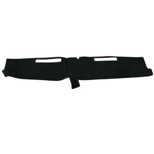 Hexautoparts Dash Cover Mat Dashboard Pad Black for Chevy C10 C20 C30 K10 K20 K30 Truck 1981-1987