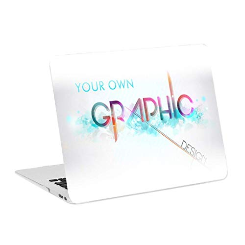 TOP CASE - Create Your Own Graphics and Text Customized Rubberized Hard Case Cover Compatible with MacBook Air 13' with Retina fits Touch ID Model: A1932/A2179 (2020 2019 2018 Release)
