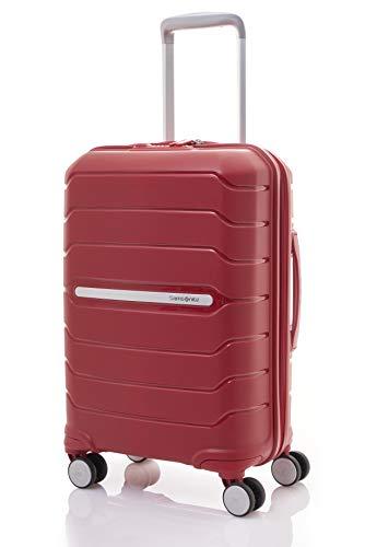 SAMSONITE Octolite Polypropylene 55 cms Red Hardsided Cabin Luggage (SAM OCTOLITE Spinner 55 -RED)