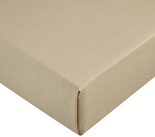 Amazon Basics AB Microfiber, Microfaser, Olivgrün, 140 x 200 x 30 cm