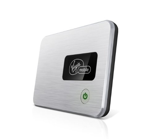 Virgin Mobile Broadband2Go MiFi 2200 VMM220NTKIT15L Mobile Hotspot Device WiFi Internet Connection. (For Cell Phones, Laptops, Tablets, etc.) Prepaid No Contract Service. Nationwide Sprint 3G Network.