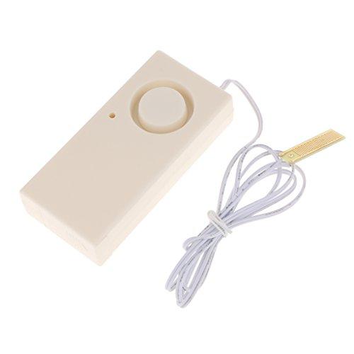 MagiDeal Wassermelder Haus Alarm System batteriebetrieben geeignet für Küche Bad Keller