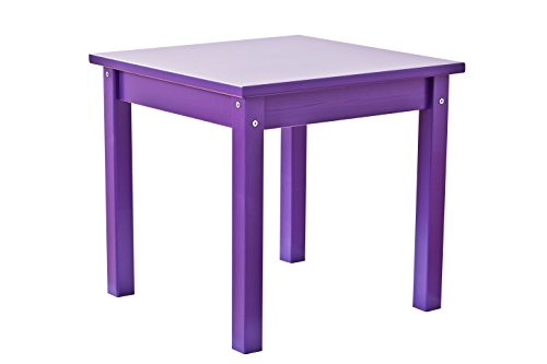 Hoppekids Mads Table pour Enfants en MDF, Bois, Violet