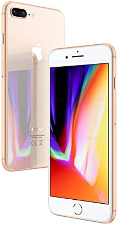 Iphone 8 plus apple 256gb oro (ricondizionato)