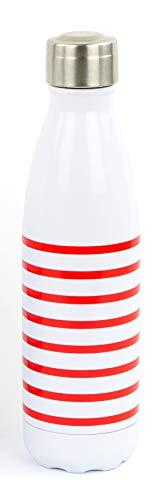 YOKO DESIGN Glass Bottle 500 ML Pochette Bleue 500ML Adulte Unisexe 21 CM