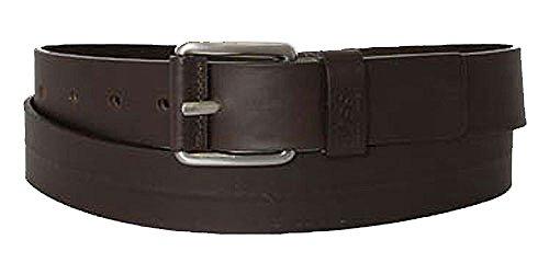 BOSS Ceinture homme leather dark brown 85cm