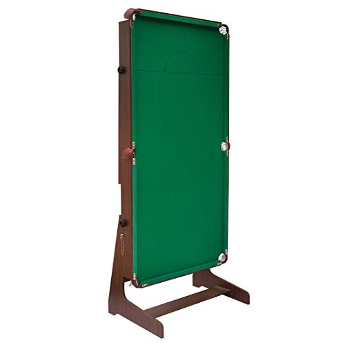 hj JH 6ft Tavolo da Biliardo Pieghevole Professionale con Palline da Biliardo - Nuovo Billiard Table - Panno Verde