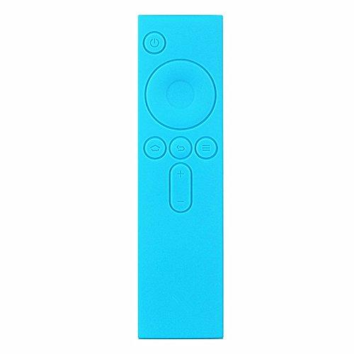 JINM - Funda de Silicona para Mando a Distancia para Xiaomi Box TV, Azul, Tamaño Libre