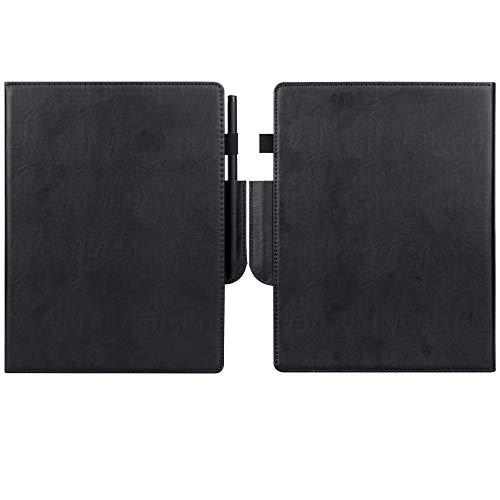 VOVIPO Remarkable 2 10.3 - Funda de piel tipo libro para papel digital 2 10.3 2020, color negro
