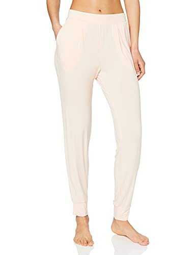 Amazon-Marke: Iris & Lilly Damen Schlafanzughosen, Pink (Light Peach), XL, Label: XL
