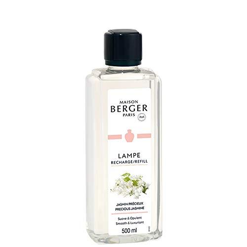 Maison Berger Paris - Recharge Lampe Berger 500 ml - Parfum Jasmin Précieux