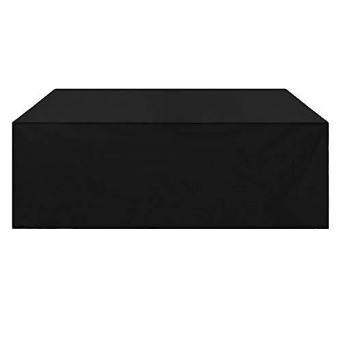 ZXHQ JardíN Mesa Funda 200x160x80cm, Patio Muebles Protectora, JardíN Patio Cubierta para Mesa Impermeable A Prueba Viento Resistente Al Polvo para Sofa De Jardin Al Aire Libre