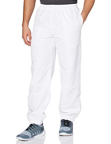 Lacoste Herren Relaxed Sporthose, Weiß (Blanc), M (Herstellergröße: 4)