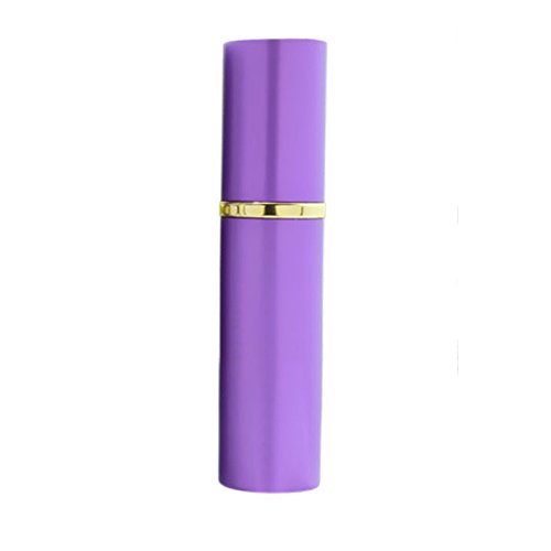 Perfume Atomiser Bottles, Portable10ML Aluminum Empty Refillable Perfume Atomizer Bottle Spray Purple