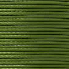 Industrieel gevlochten textielkabel flexibel vintage look lamp kabel 5/10 meter Tripolar rond 0,75 mm 10 Meter Leger Groen