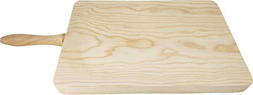 FRANCACOR Tabla Madera para Cortar con Mango Lateral (17 x 27 cms)