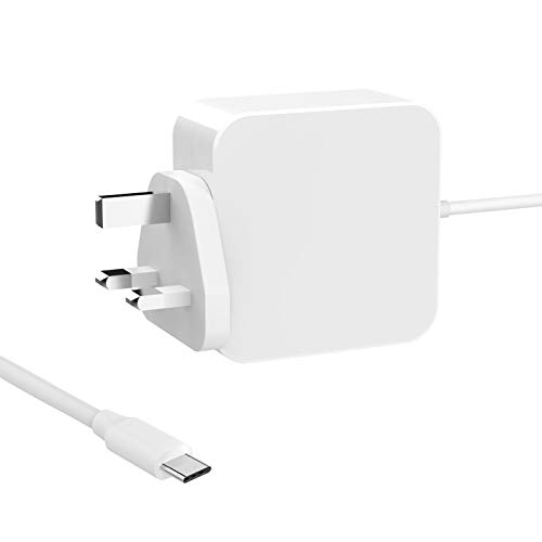 61W USB C Power Adapter Compatible with Mac book Pro/Air Charger, Works With USB-C 61W & 30W & 29W Type C Fast Charging Compatible with Mac book Pro 13'' 15'' 2016Late MacBook Air 2018Late