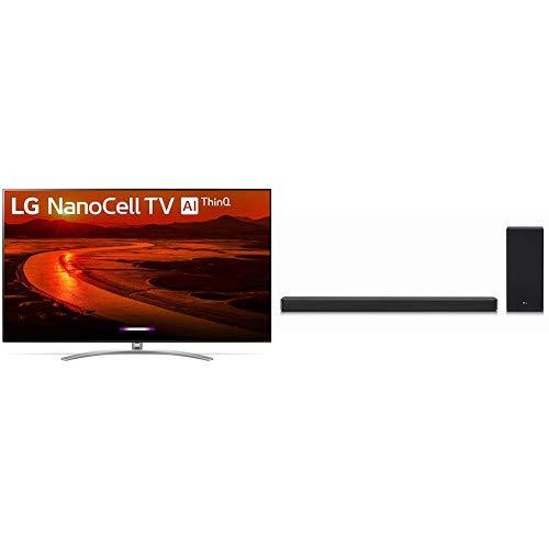 LG 75SM9970PUB Alexa Built-in Nano 9 Series 75' 8K Ultra HD Smart LED NanoCell TV with 3.1 Channel High Resolution Audio Sound Bar w/DTS Virtual:X