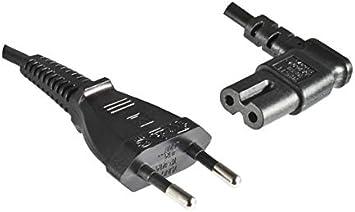 Dinic Stromkabel Netzkabel Eurostecker Auf C7 90 Grad Elektronik