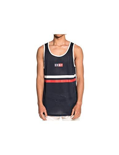 GRIMEY Camiseta Tirantes ASHE Mesh SS18 Navy-M
