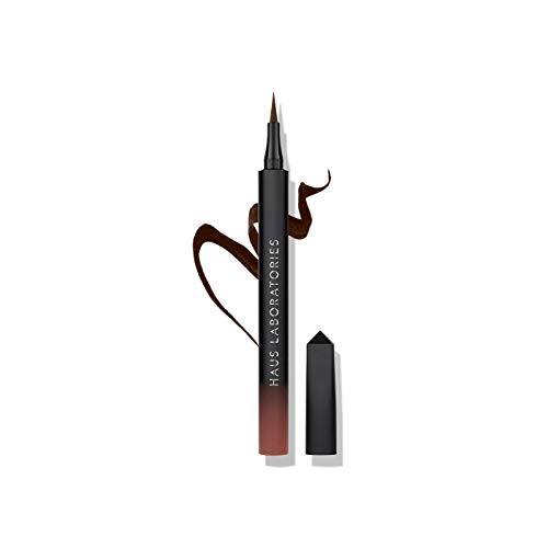 HAUS LABORATORIES by Lady Gaga: LIQUID EYE-LIE-NER | EYE-DENTIFY GEL PENCIL | KOHL EYELINER, Longwear Liquid Felt-Tip or Microtip, Waterproof Gel Pencil or Smokey Kohl Eyeliner in Black & More Shades