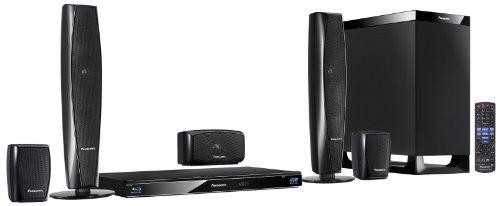 Panasonic SC-BTT370EGK - Home Cinema con Blu-ray 3D (5.1, 1.000W, DLNA, dock para iPod/iPhone, Wi-Fi, USB)